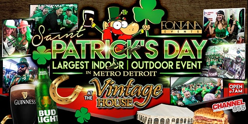 VIP St.Patrick's Day Tent Tickets