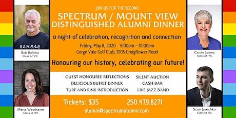 Spectrum Distinguished Alumni Dinner tickets