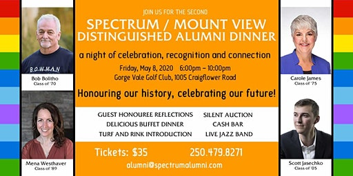 Spectrum Distinguished Alumni Dinner