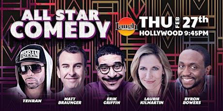 Matt Braunger, Erik Griffin, and more - All-Star Comedy tickets