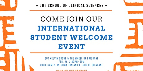 The School of Clinical Sciences International Students Welcome day tickets