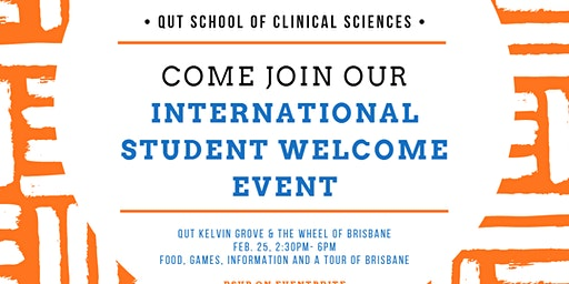 The School of Clinical Sciences International Students Welcome day