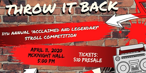 """Alpha Lambda's 11th Annual """"Acclaimed and Legendary"""" Stroll Competition"""