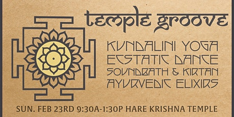 TEMPLE GROOVE - Yoga + Ecstatic Dance tickets