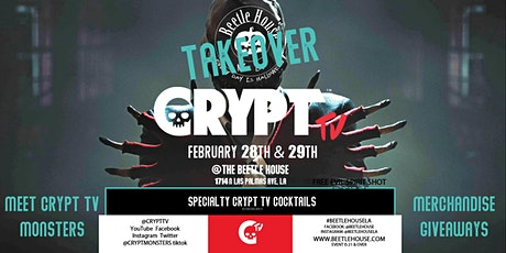 Crypt TV Takeover  @ The Beetle House tickets