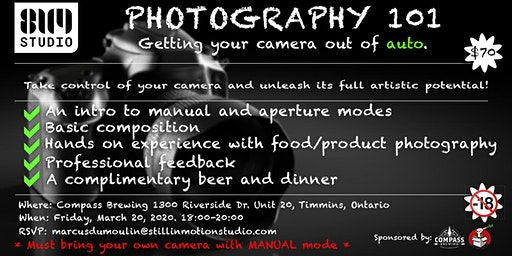Photography 101   Getting your camera out of auto.