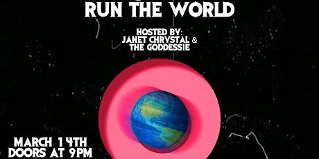 RUN THE WORLD tickets