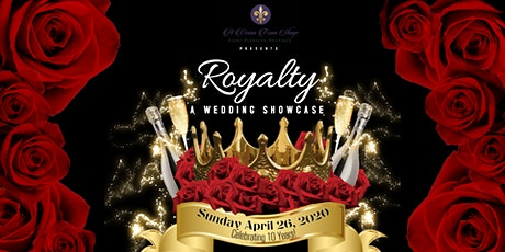 "A Vision from Shaye presents ""Royalty"" - A Wedding Showcase tickets"