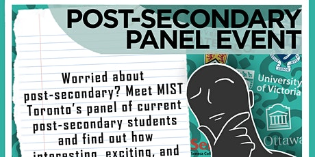 Post-Secondary Panel Event tickets