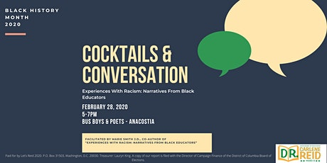 Cocktails & Conversation: Black History Month Edition tickets
