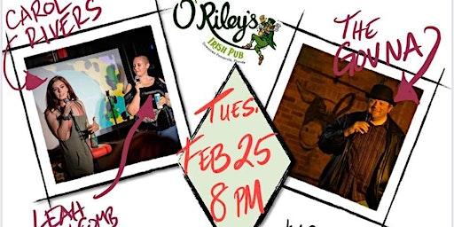 Comedy Night at O'Riley's!