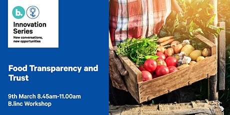 Food Transparency and Trust tickets