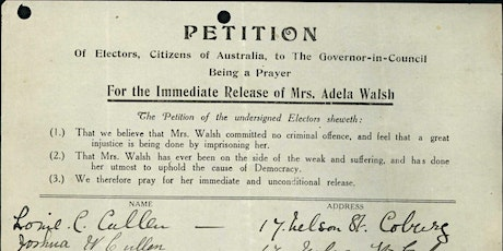'We, the Undersigned…': Petitions in the National Archives tickets
