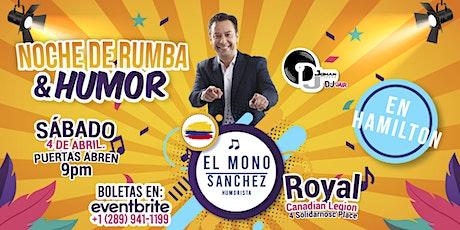 """El """"mono"""" Sánchez  en Hamilton tickets"""