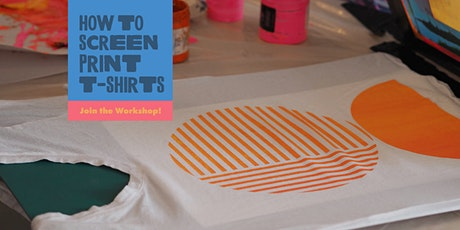How To Screen Print T-Shirts tickets