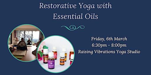 Restorative Yoga with Essential Oils