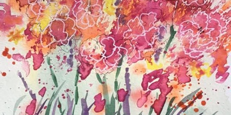 Daytime!! Lets Play!! Experiment with Watercolor tickets