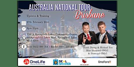 Australia National Tour - BRISBANE tickets