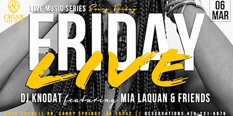Friday Live (Live Music Series) tickets