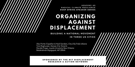 Organizing Against Displacement - Building a National Movement in 3 Cities tickets