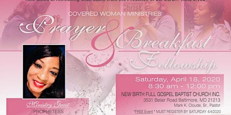 Covered Woman Ministries' Prayer & Breakfast Fellowship tickets
