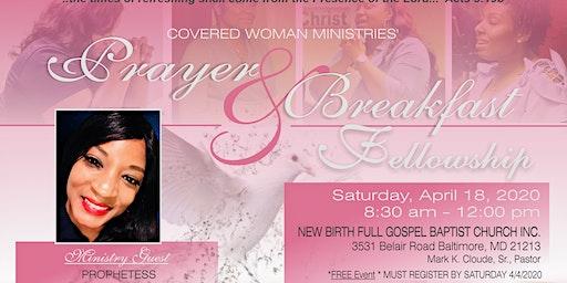 Covered Woman Ministries' Prayer & Breakfast Fellowship