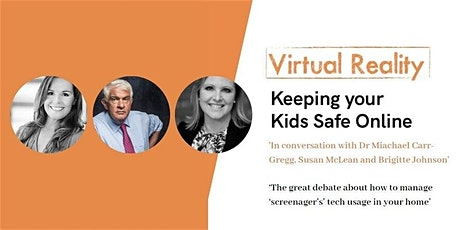 Virtual Reality: Keeping Your Kids Safe Online - Toowoomba Grammar School March 23, 2020  tickets