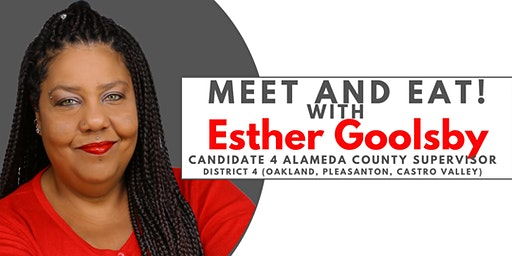 Meet and Eat! with Esther Goolsby