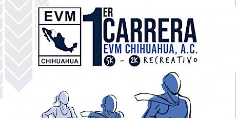 1a. Carrera de Ejecutivos de Ventas y Mercadotecnia de Chihuahua entradas
