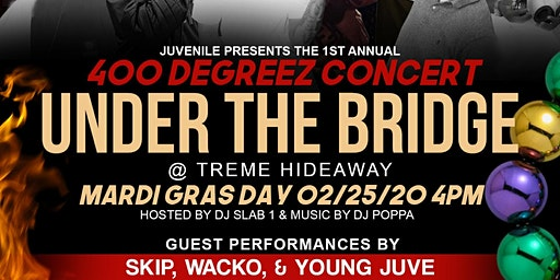 400 Degreez Concert Under The Bridge