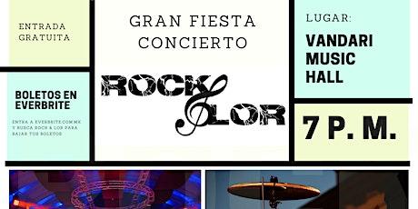 ROCK & LOR boletos