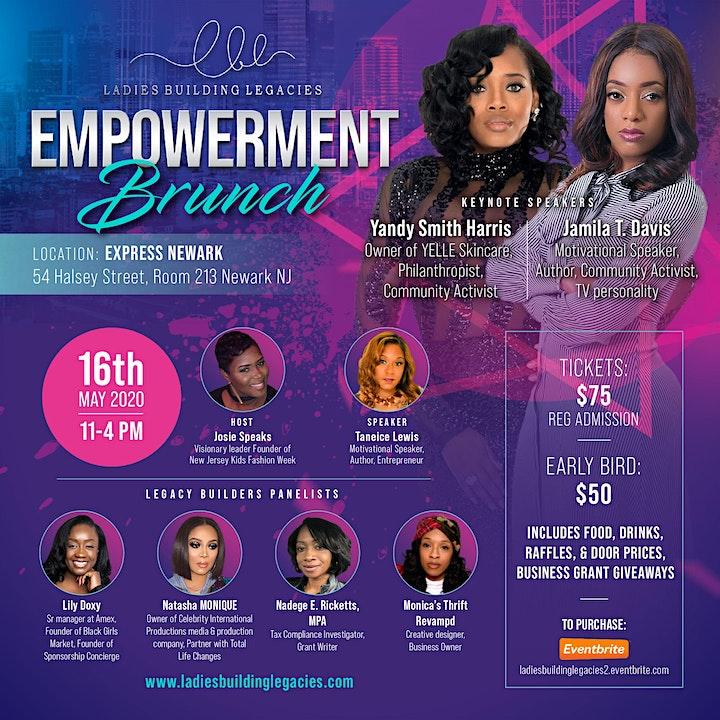 Annual Ladies Building Legacies Empowerment Brunch image
