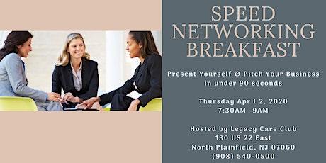 Women In Business Speed Networking Breakfast tickets