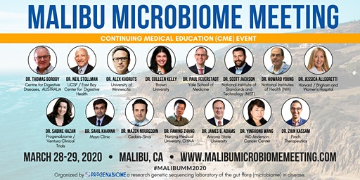 Malibu Microbiome Meeting - CME (Continuing Medical Education)