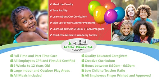 Open House: Little Minds 1st Academy