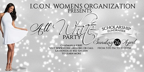 I.C.O.N. Women's Organization presents The Big White Party tickets