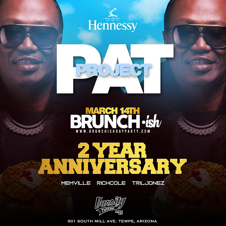 Brunch•ish Two Year Anniversary with Project Pat image