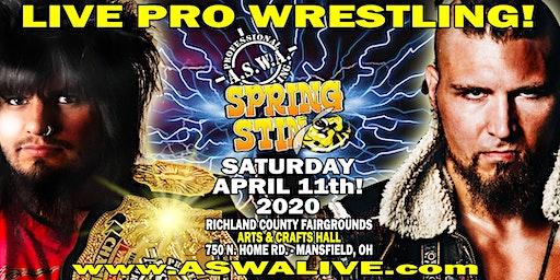 Live Pro Wrestling: ASWA Spring Sting 2020