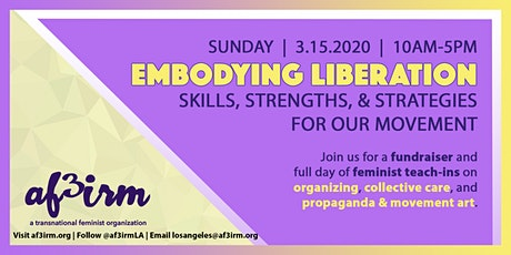 Embodying Liberation: Skills, Strengths, & Strategies for Our Movement tickets
