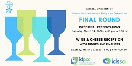 IDPCC Final Presentations tickets