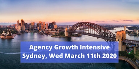 Agency Sales Intensive tickets