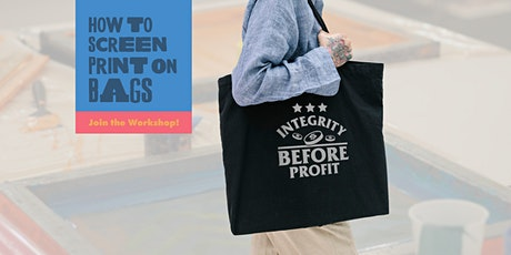 How To Screen Print On Bags tickets