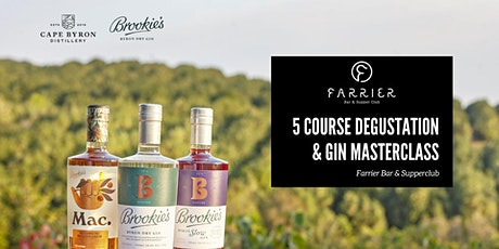 Brookie's Gin Masterclass & 5 Course Degustation tickets