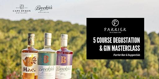 Brookie's Gin Masterclass & 5 Course Degustation