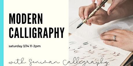 Beginner Modern Calligraphy tickets