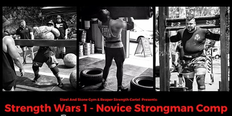 Strength Wars 1 - Novice Strongman Comp tickets