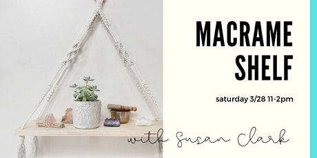 Macrame Shelf Workshop tickets