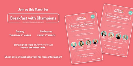 Breakfast With Champions: Fearless Females tickets