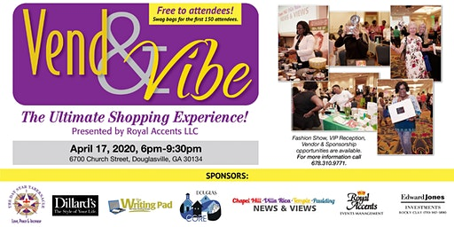 """""""Vend & Vibe"""" the Ultimate Shopping Experience"""