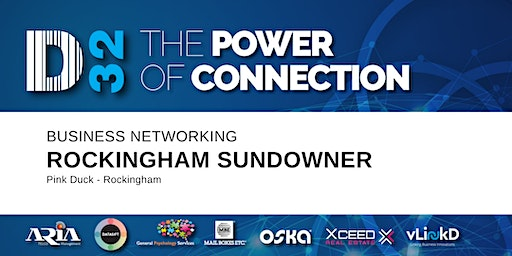 District32 Business Networking Rockingham Sundowner - Thu 05th Mar